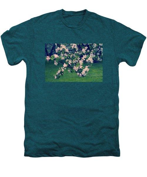 Blossoming Spring Garden Men's Premium T-Shirt by Konstantin Sevostyanov