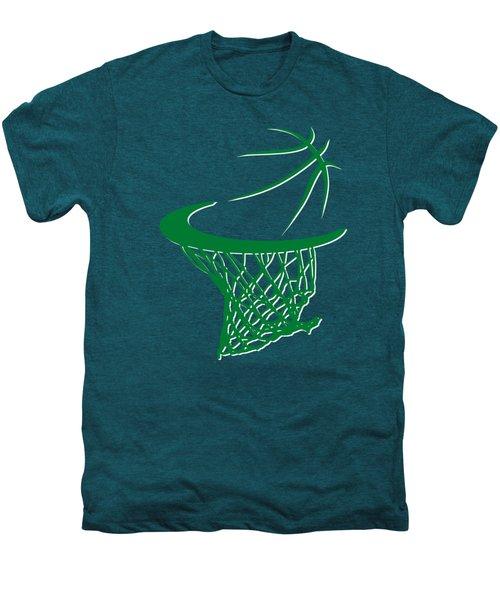 Celtics Basketball Hoop Men's Premium T-Shirt by Joe Hamilton