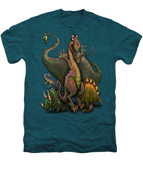 Dinosaurs Men's Premium T-Shirt by Kevin Middleton