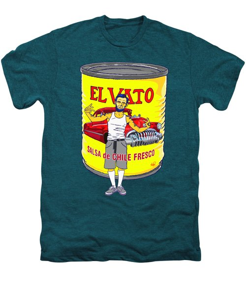 El Vato - Abe Men's Premium T-Shirt by Armando Padilla