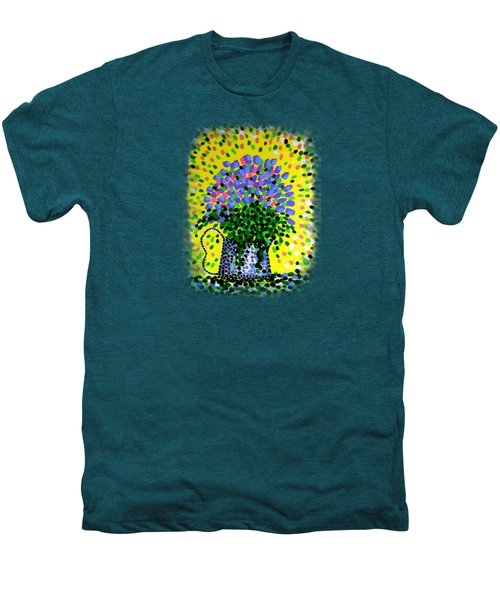 Explosive Flowers Men's Premium T-Shirt by Alan Hogan