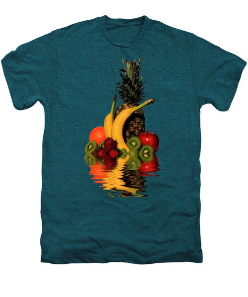 Fruity Reflections - Dark Men's Premium T-Shirt by Shane Bechler