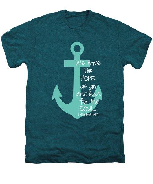 Hope Customizable Background Men's Premium T-Shirt by Nancy Ingersoll