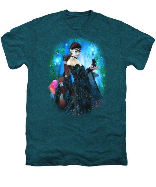 Lady Of The Dragon Fae Men's Premium T-Shirt by Brandy Thomas