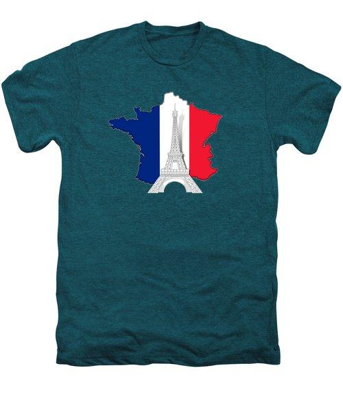 Pray For Paris Men's Premium T-Shirt by Bedros Awak