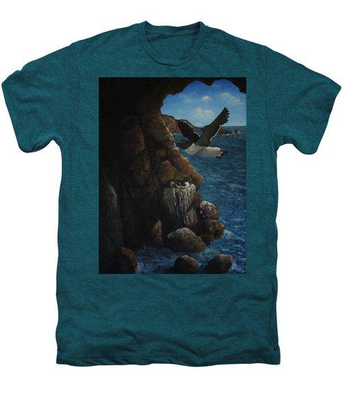 Razorbills Men's Premium T-Shirt by Eric Petrie