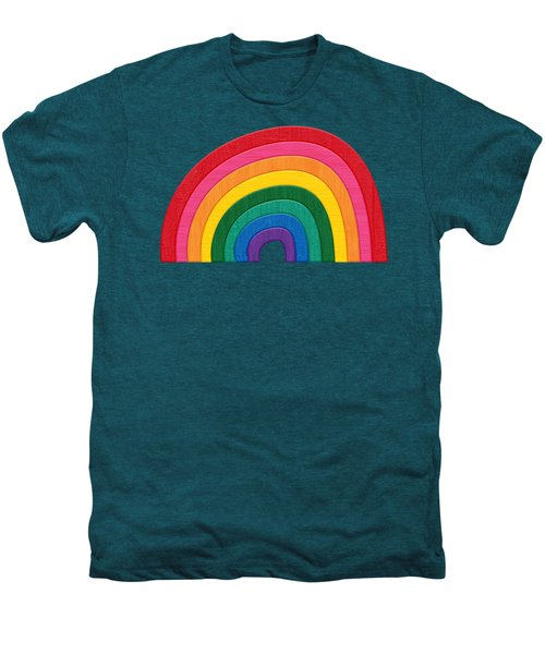 Somewhere Over The Rainbow Men's Premium T-Shirt by Marisa Lerin