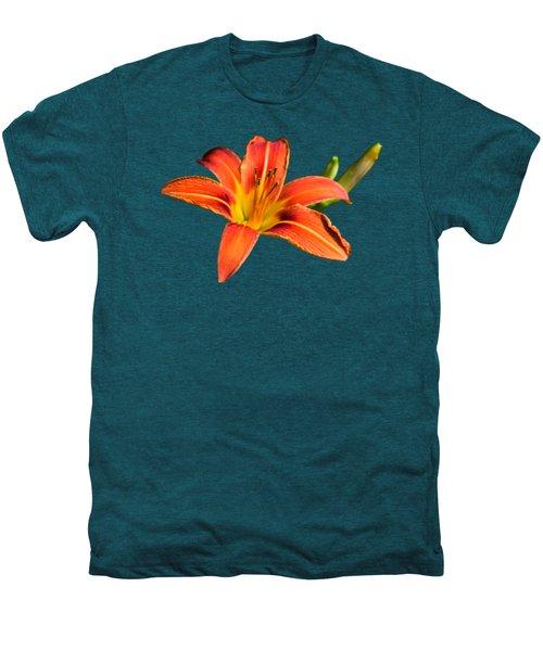 Tiger Lily Men's Premium T-Shirt by Christina Rollo