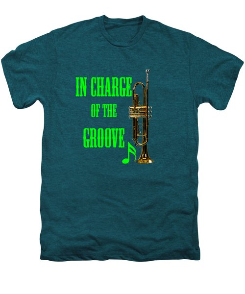 Trumpets In Charge Of The Groove 5535.02 Men's Premium T-Shirt by M K  Miller