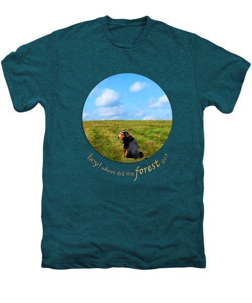 Where Did The Forest Go Men's Premium T-Shirt by Christina Rollo