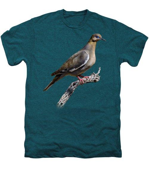 White-winged Dove V53 Men's Premium T-Shirt by Mark Myhaver