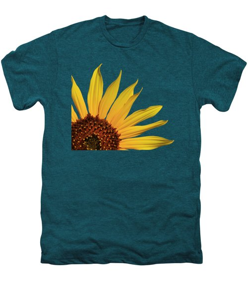 Wild Sunflower Men's Premium T-Shirt by Shane Bechler