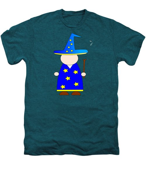 Wizard #2 Men's Premium T-Shirt by Frederick Holiday