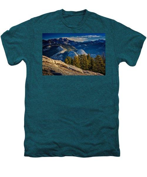 Yosemite Morning Men's Premium T-Shirt by Rick Berk