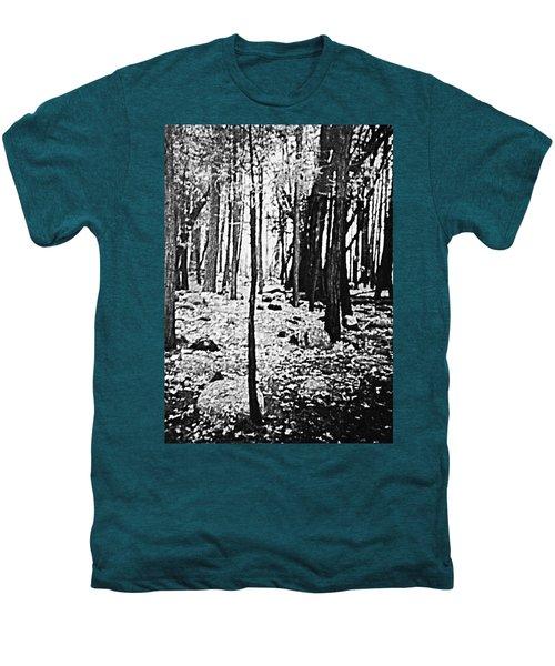 Yosemite National Park Men's Premium T-Shirt by Debra Lynch