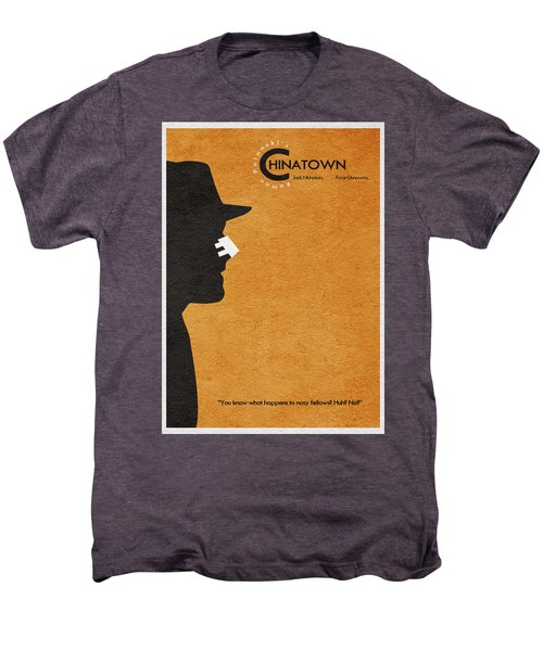 Chinatown Men's Premium T-Shirt by Ayse Deniz