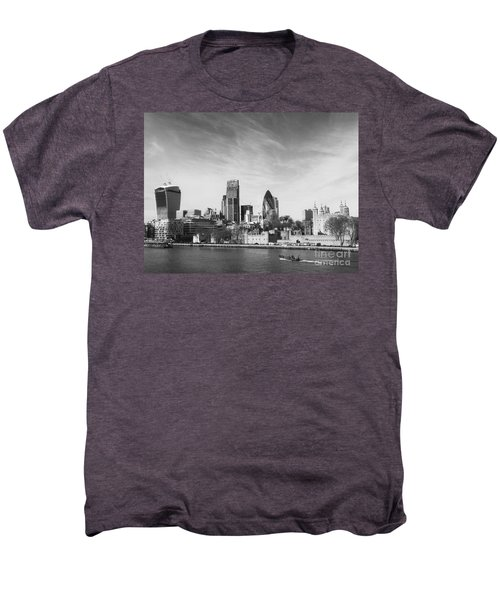 City Of London  Men's Premium T-Shirt by Pixel Chimp