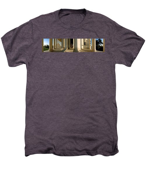 Columns Of A Memorial, Jefferson Men's Premium T-Shirt by Panoramic Images