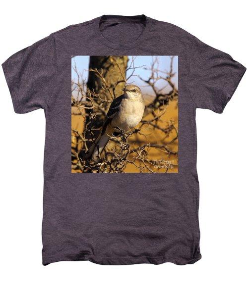 Common Mockingbird Men's Premium T-Shirt by Robert Frederick