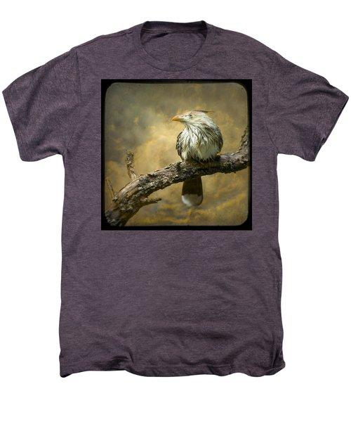 Exotic Bird - Guira Cuckoo Bird Men's Premium T-Shirt by Gary Heller