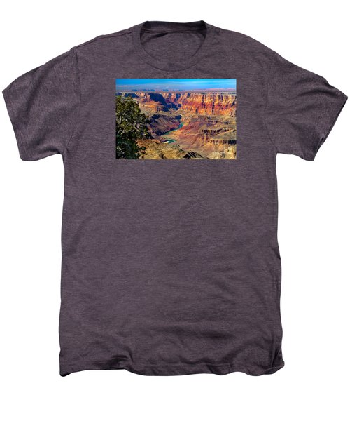 Grand Canyon Sunset Men's Premium T-Shirt by Robert Bales