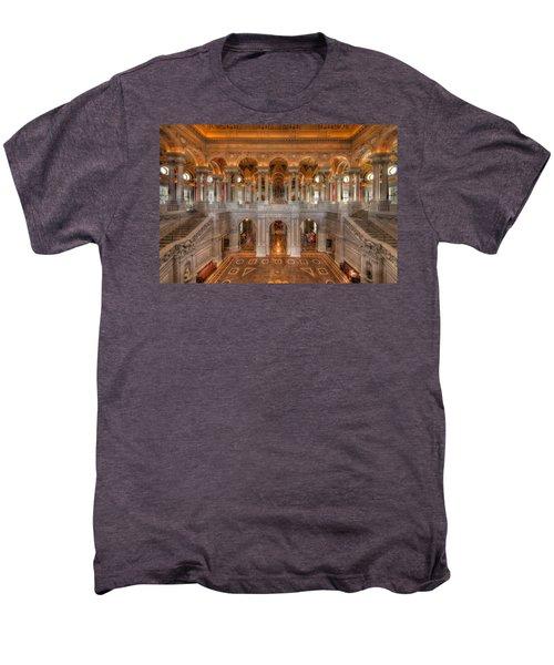 Library Of Congress Men's Premium T-Shirt by Steve Gadomski