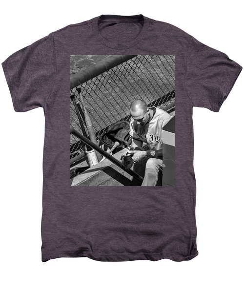 Moment Of Reflection Men's Premium T-Shirt by Tom Gort