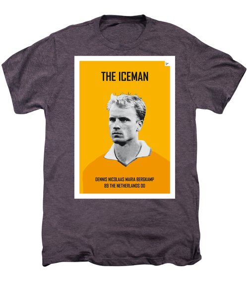 My Bergkamp Soccer Legend Poster Men's Premium T-Shirt by Chungkong Art