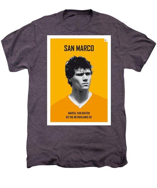 My Van Basten Soccer Legend Poster Men's Premium T-Shirt by Chungkong Art