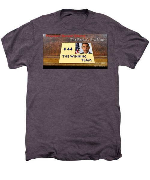 Number 44 - The Winning Team Men's Premium T-Shirt by Terry Wallace
