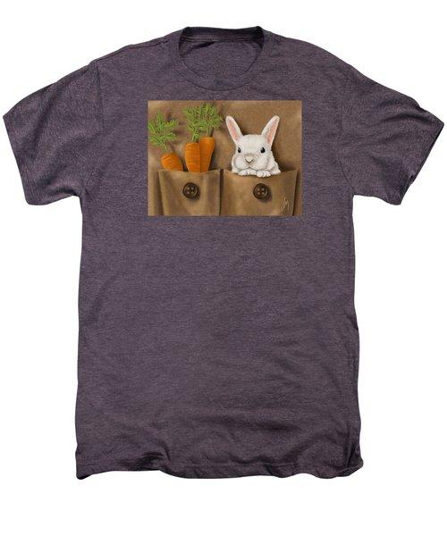 Rabbit Hole Men's Premium T-Shirt by Veronica Minozzi