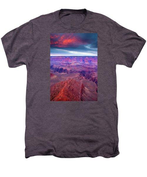 Red Rock Dusk Men's Premium T-Shirt by Mike  Dawson