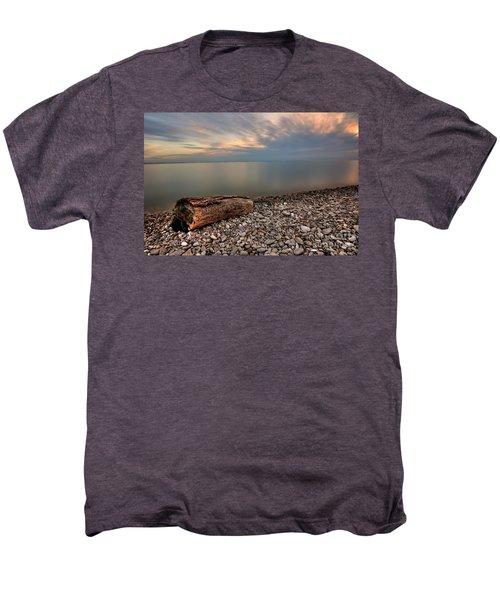 Stone Beach Men's Premium T-Shirt by James Dean