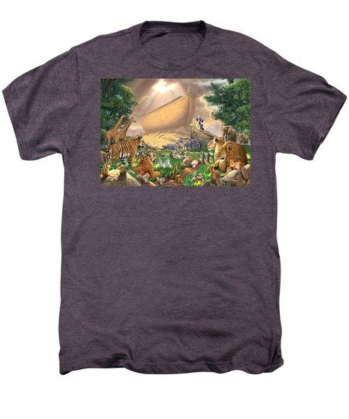 The Gathering Men's Premium T-Shirt by Chris Heitt