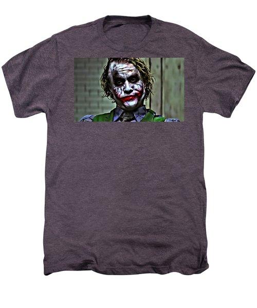The Joker Men's Premium T-Shirt by Florian Rodarte
