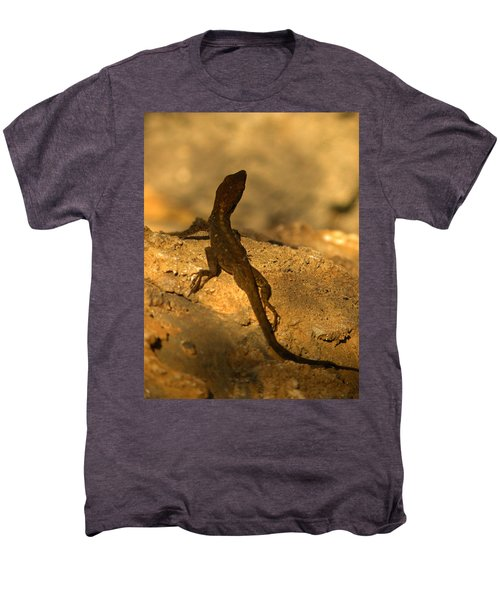 Leapin' Lizards Men's Premium T-Shirt by Trish Tritz