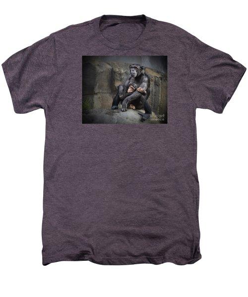 Hugs Men's Premium T-Shirt by Jamie Pham