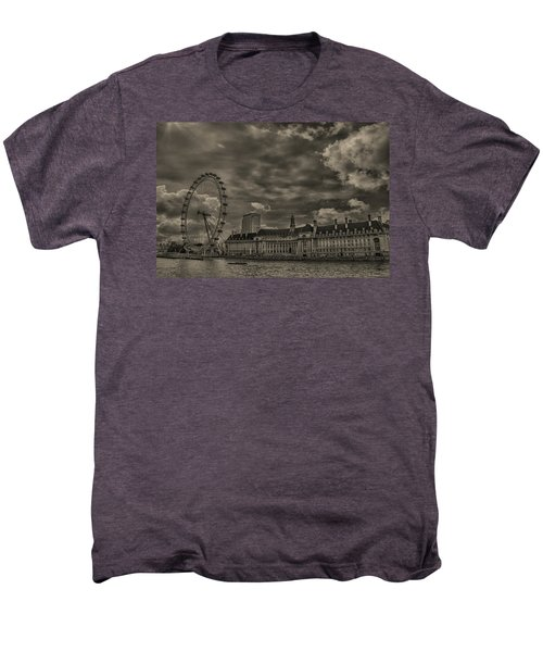 London Eye Men's Premium T-Shirt by Martin Newman