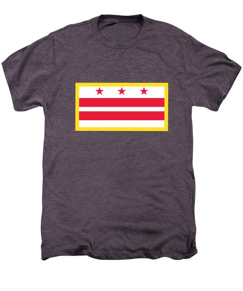 Washington, D.c. Flag Men's Premium T-Shirt by Frederick Holiday