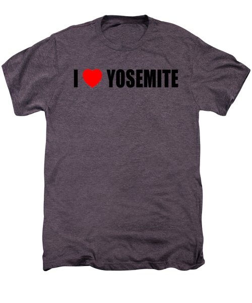 Yosemite National Park Men's Premium T-Shirt by Brian's T-shirts