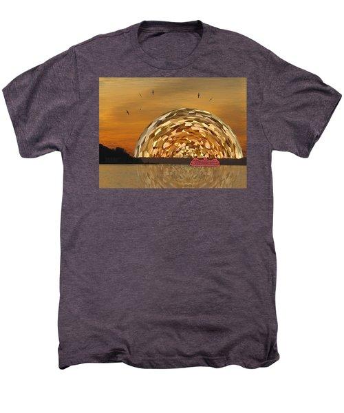 Albatross Setting Men's Premium T-Shirt by Tim Allen