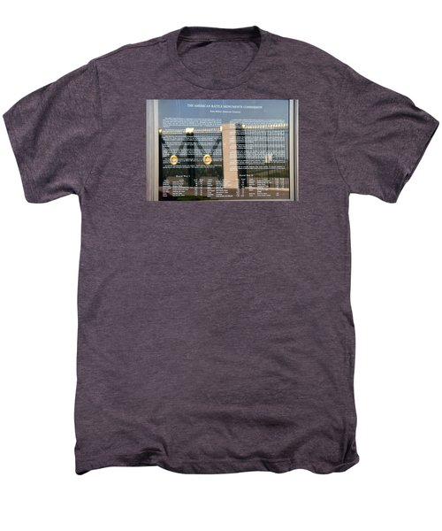 Men's Premium T-Shirt featuring the photograph American Battle Monuments Commission by Travel Pics