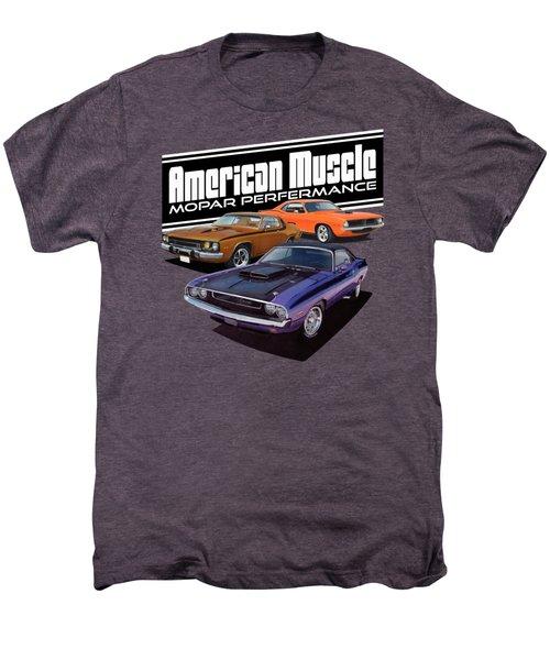 American Mopar Muscle Men's Premium T-Shirt by Paul Kuras