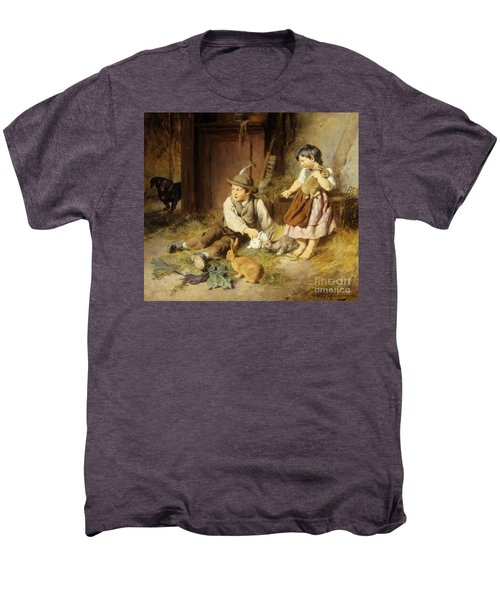 An Unwelcome Visitor Men's Premium T-Shirt by Felix Schlesinger