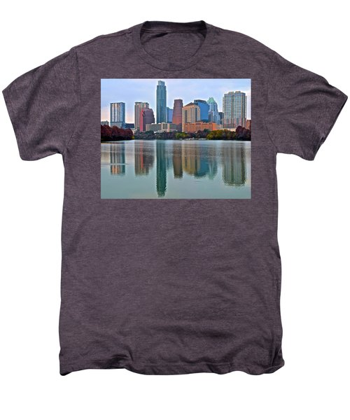 Austin Shimmer  Men's Premium T-Shirt by Frozen in Time Fine Art Photography