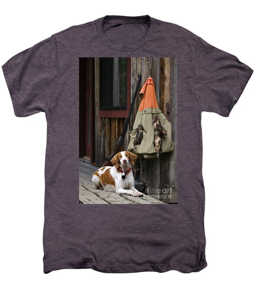 Brittany And Woodcock - D002308 Men's Premium T-Shirt by Daniel Dempster