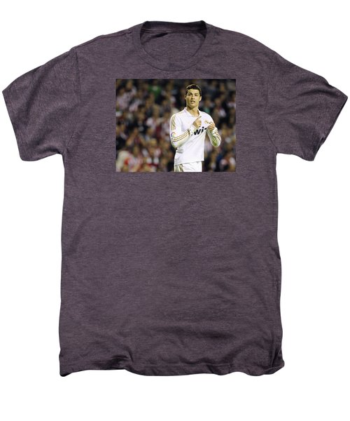 Cristiano Ronaldo 4 Men's Premium T-Shirt by Rafa Rivas
