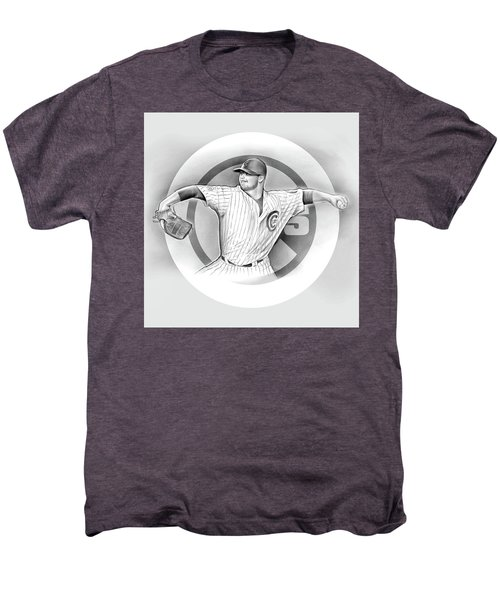 Cubs 2016 Men's Premium T-Shirt by Greg Joens