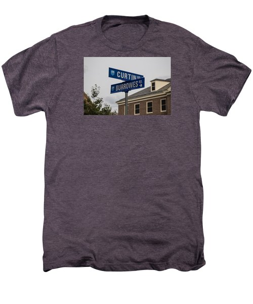 Curtin And Burrowes Penn State  Men's Premium T-Shirt by John McGraw