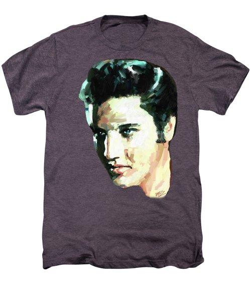 Elvis Men's Premium T-Shirt by James Shepherd